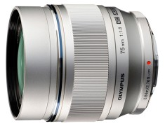 Olympus M.ZUIKO DIGITAL ED 75mm F1.8 銀色 平行輸入